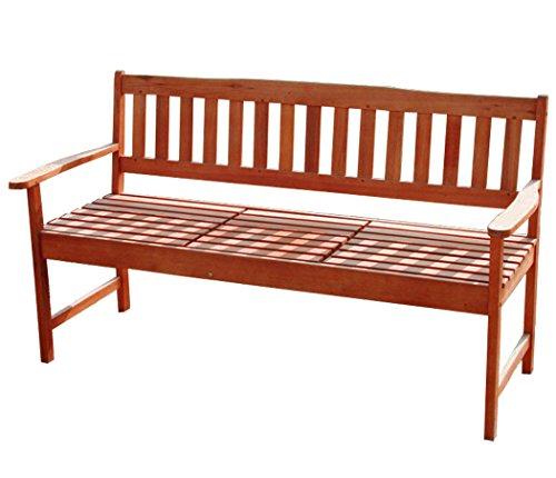 Gartenbank mit integriertem Tisch - 3