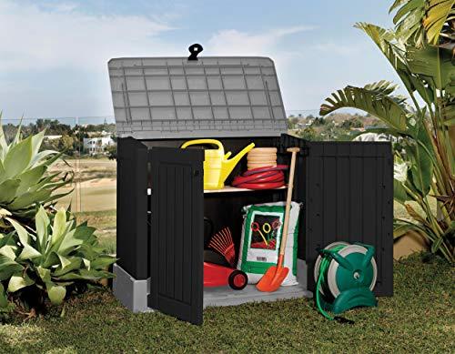 Mülltonnenbox aus Kunststoff - 9