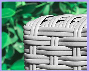 gartenbank polyrattan anthrazit