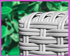polyrattan hängesessel