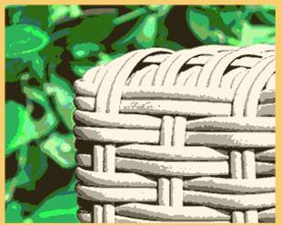 polyrattan insel