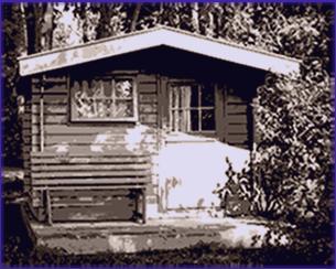 tür für gartenhaus