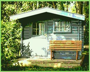 türe gartenhaus